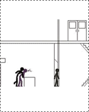 animasi unik perpustakaan cerita
