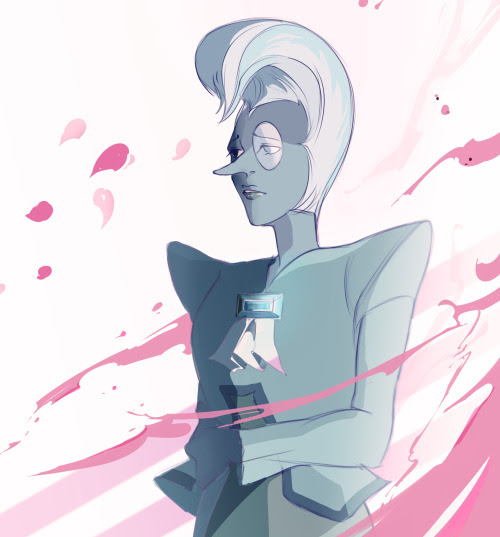 somethingscarlet13 said: Hi! I just wanna say I love the way you draw Zircon. Could you draw her some more pretty please? Answer: Yes, uhhhh… Like this maybe?