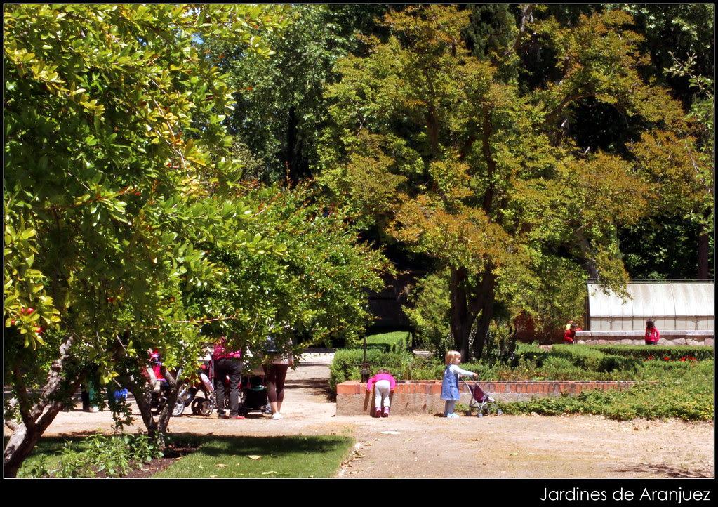jardines de Aranjuez en mayo