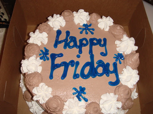 Happy Friday Thomas Sweet ice cream cake