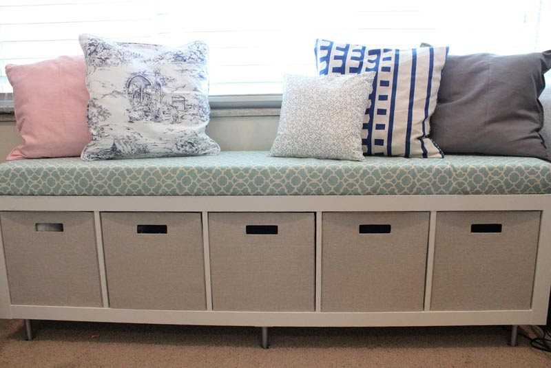 Long Storage Bench Seat For Extra Large Seat And Storage ...