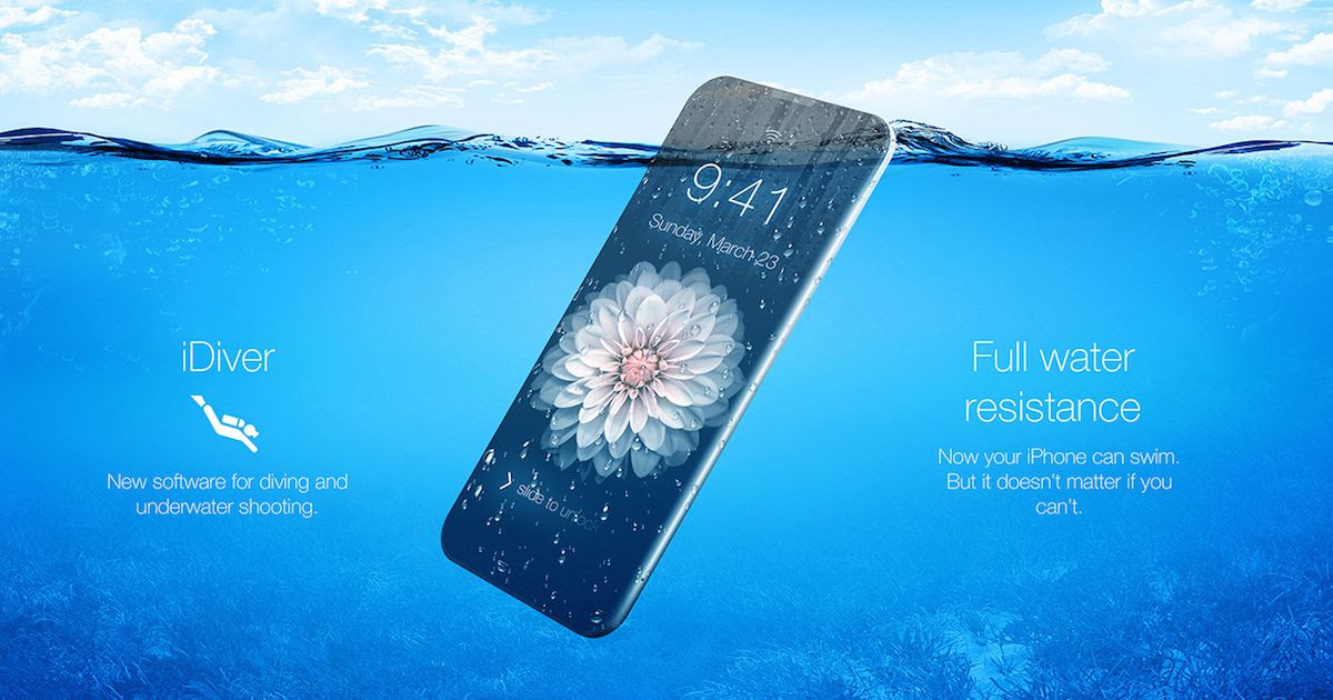 Image result for iphone 7 waterproof
