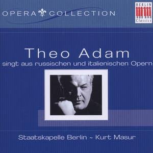 Theo Adam Singt Aus Russischen Und Italienischen Opern