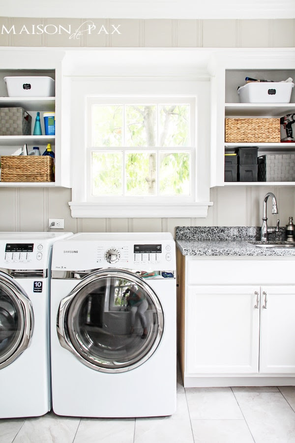 10 Tips For A Functional Laundry And Mud Room Maison De Pax