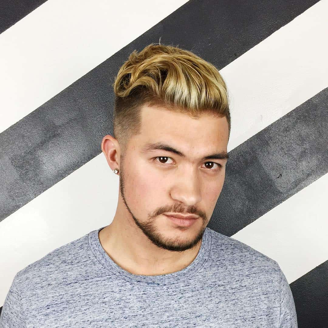 New Hairstyle Golden Colour Men Newhairstyle2019