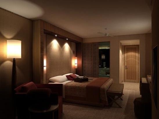 Overhead light  wall  bedroom  Home Interiors