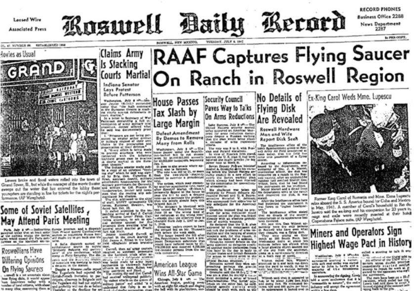 rumores conspiracao OVNIs e nazistas 1