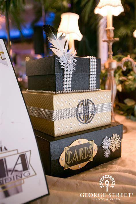 #gatsbywedding card box with perfect detailing!   Gatsby