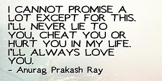 I Promise I Will Always Love You Forever Quotes