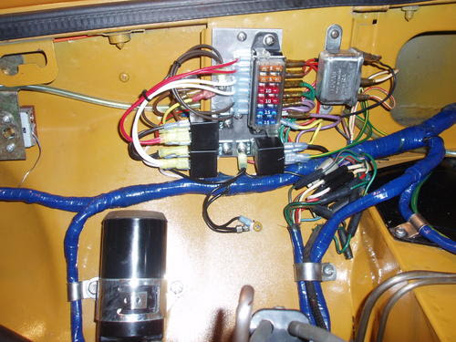 mgb fuse box wires image 2