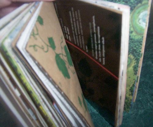 Coptic Stitch Book (inside)