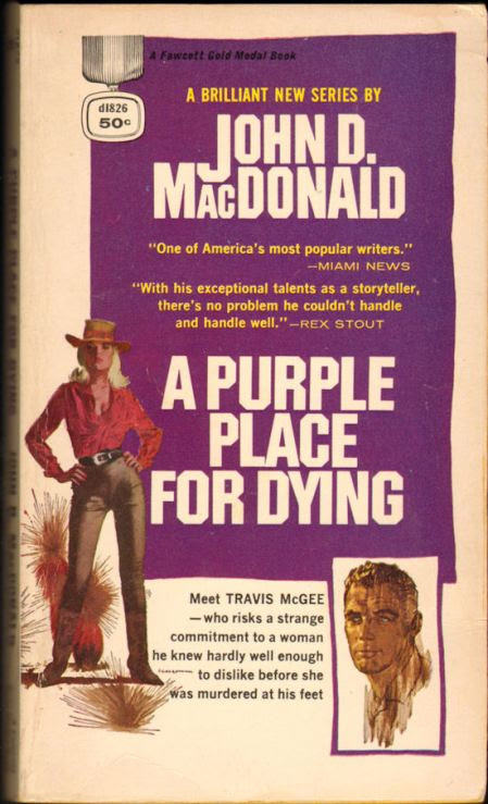 John D. MacDonald A Purple Place for Dying