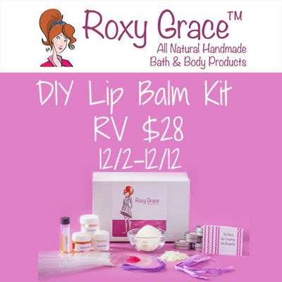 Roxy Grace DIY Lip Balm Kit Giveaway