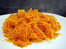courge spaghetti vegan