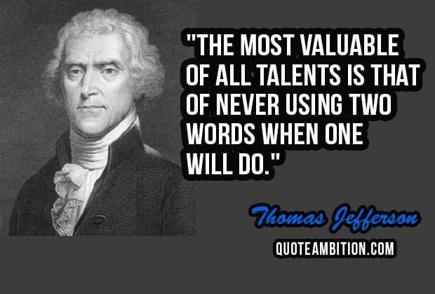 Top 100 Famous Thomas Jefferson Quotes