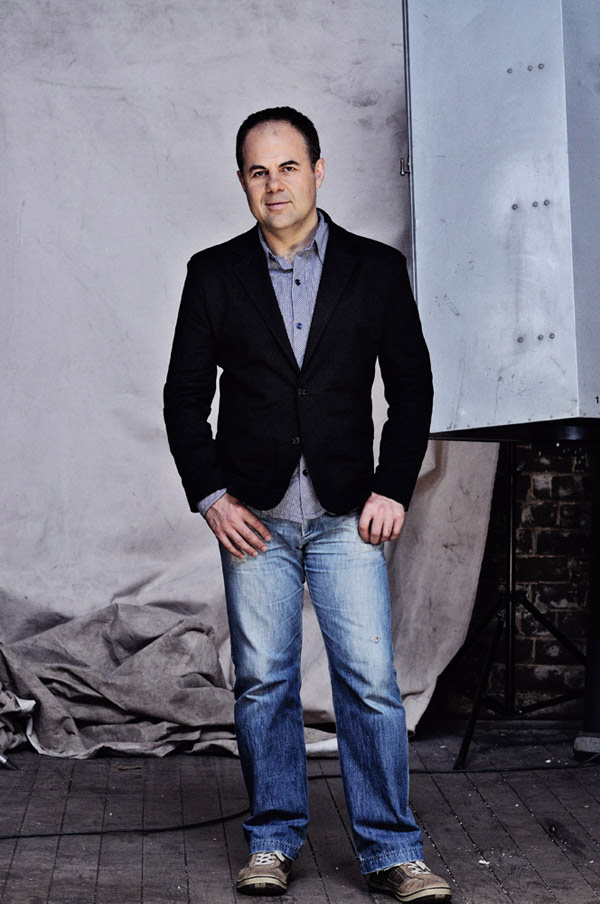 TVS Presenter Yianni Zinonos, Full length Studio shot, PR portrait