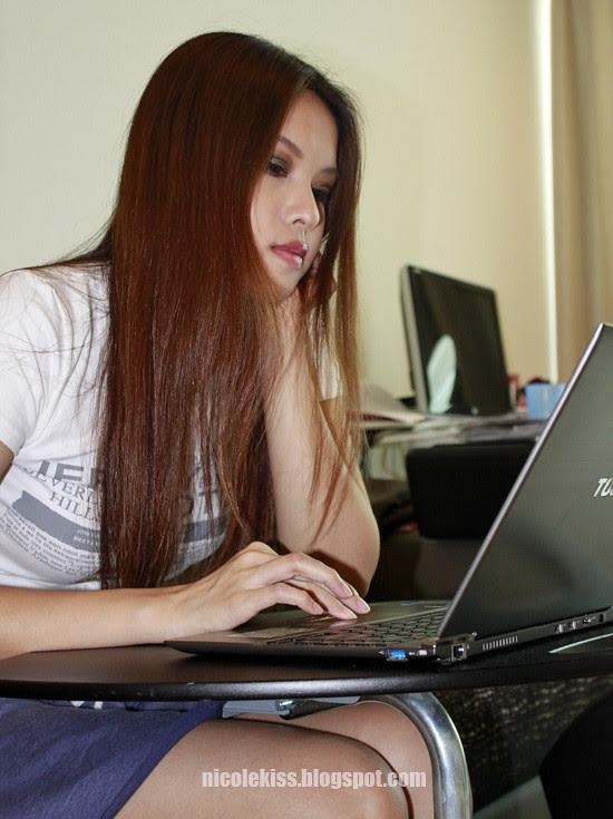 typing on my toshiba ultrabook