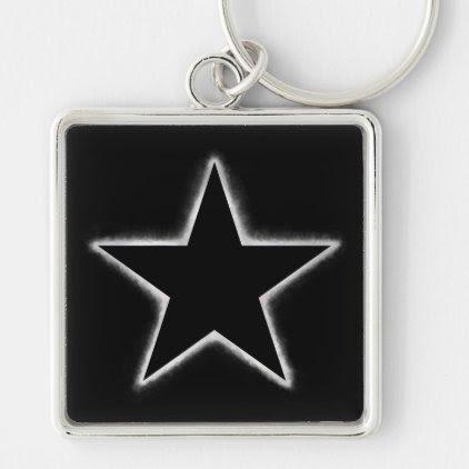 Star eclipse keychain