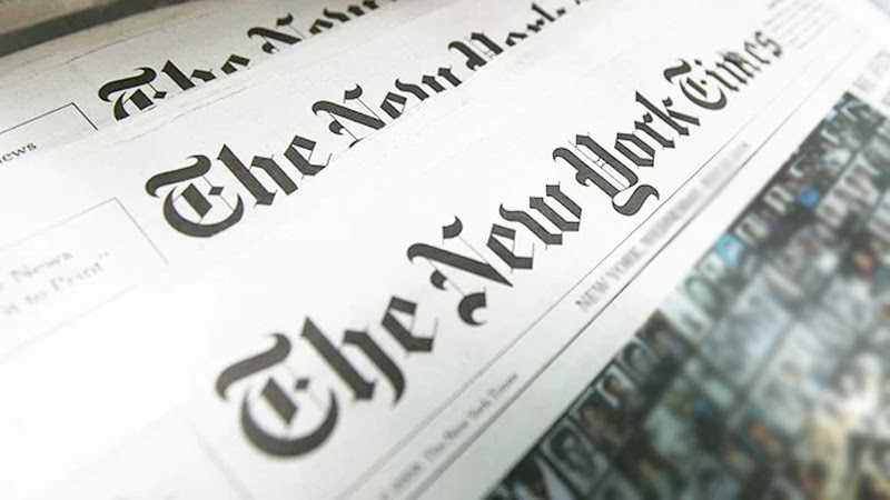 CID to PROBE INTO NEW YORK TIMES REPORT - PM