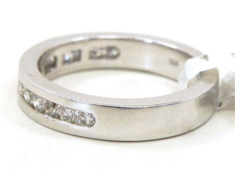 Ladies 14k White Gold Diamonds Wedding Band   Bright Jewelers