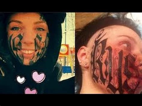 disaster face tattoo date youtube