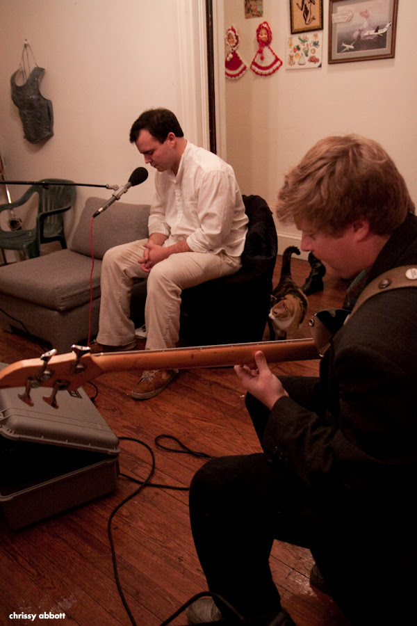 Podcasting with Future Islands