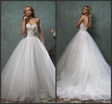 Best Selling Sweetheart 2016 Amelia Sposa Wedding Dresses