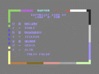 Barman - Load´n´run - Commodore- (2)