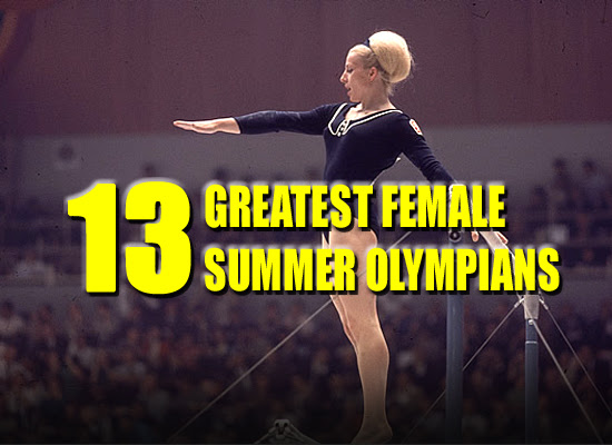 greatest female olympians