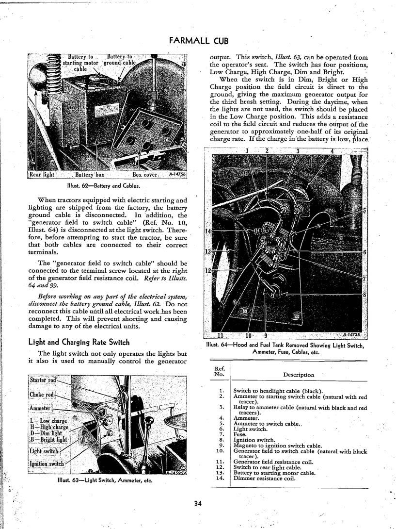 6v Cutout Wiring Farmall Cub