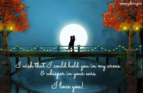 Wish You Were Here In My Arms. Free I Love You eCards