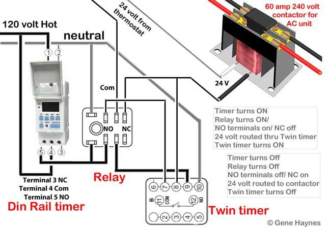 Delay Timer For Motor Or Pump 120volt To 240volt
