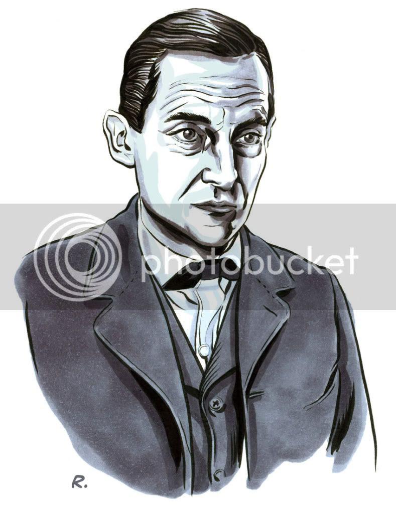 Graeme Neil Reid,Illustration,Sherlock Holmes