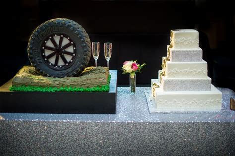 1000  ideas about Tire Wedding Cakes on Pinterest   Tiered