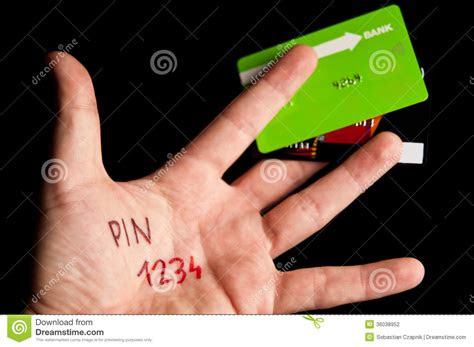 credit card pin stock photography image