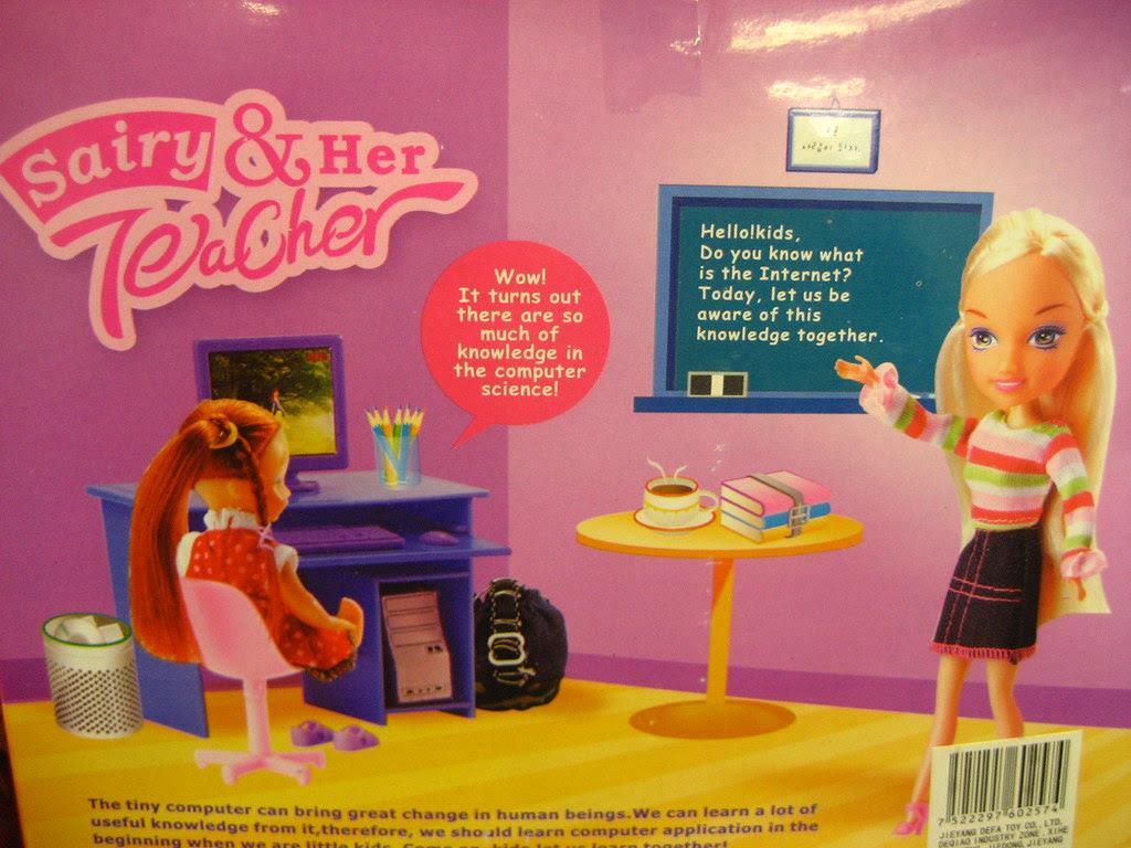 Defa Lucy Sairy & Her Teacher Box