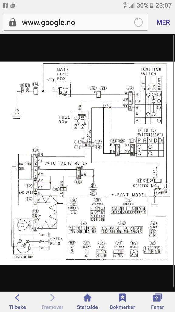 Wiring Diagram Original Subaru Justy Forum