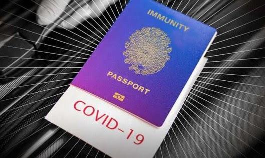 Διαβατήριο και πιστοποιητικό εμβολιασμού
