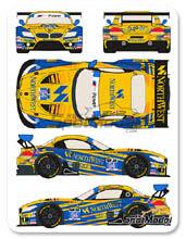 Calcas 1/24 Racing Decals 43 - BMW Z4 GT3 NorthWest - Nº 94 - Farfus + Palttala + Dalla Lana + Cameron - 24 Horas de Daytona 2014 para kit de Fujimi FJ17001, FJ12577, FJ17002