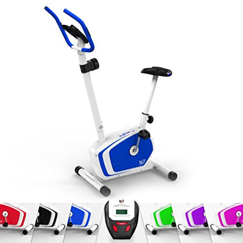 We R Sports Magnetic Indoor Exercise Bike Home Fitness Cardio Workout Machine (Blue)