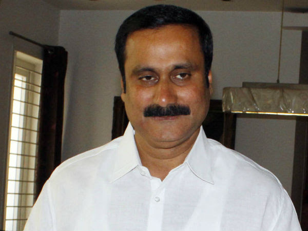 pmk youth wing leader anbumani hospitalised