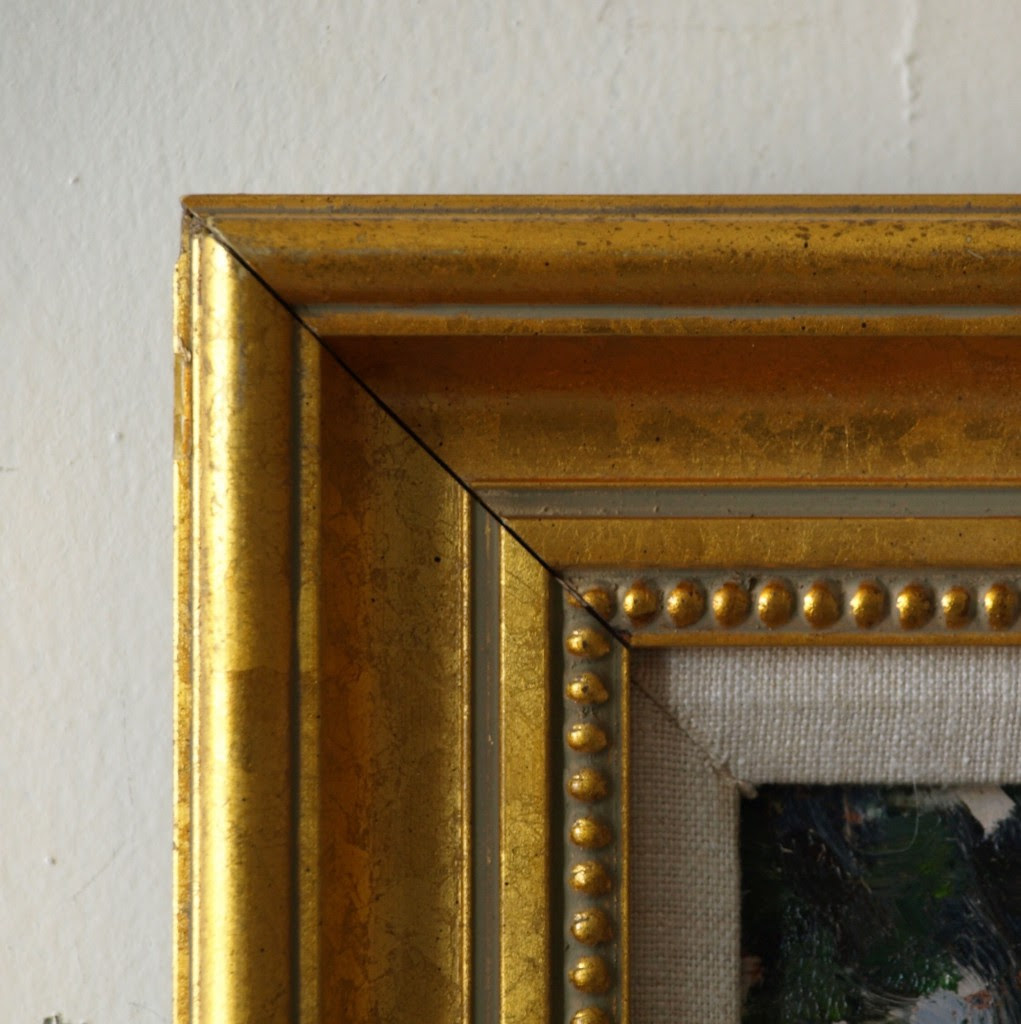 Gold Frame Beaded Inside 16 X 20 Inches Richard Stalter Fine Art