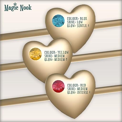[MAGIC NOOK] Love Bracelet - Example Gem Settings