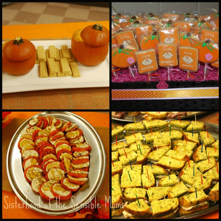 Pumpkin All The Baby Things Fall Baby Shower Ideas Sisterhood Of