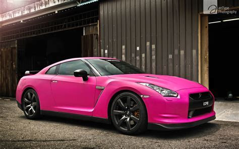 Pink Nissan GTR Wallpaper   HD Car Wallpapers