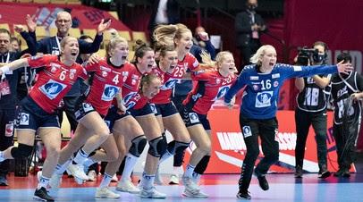 Гандболистки сборной Норвегии стали чемпионками Европы, обыграв в финале Францию