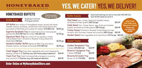 Safeway catering menu and prices