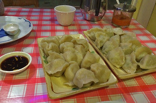 Kingdom of Dumpling - Pork and Chicken dumpling with Spinach
