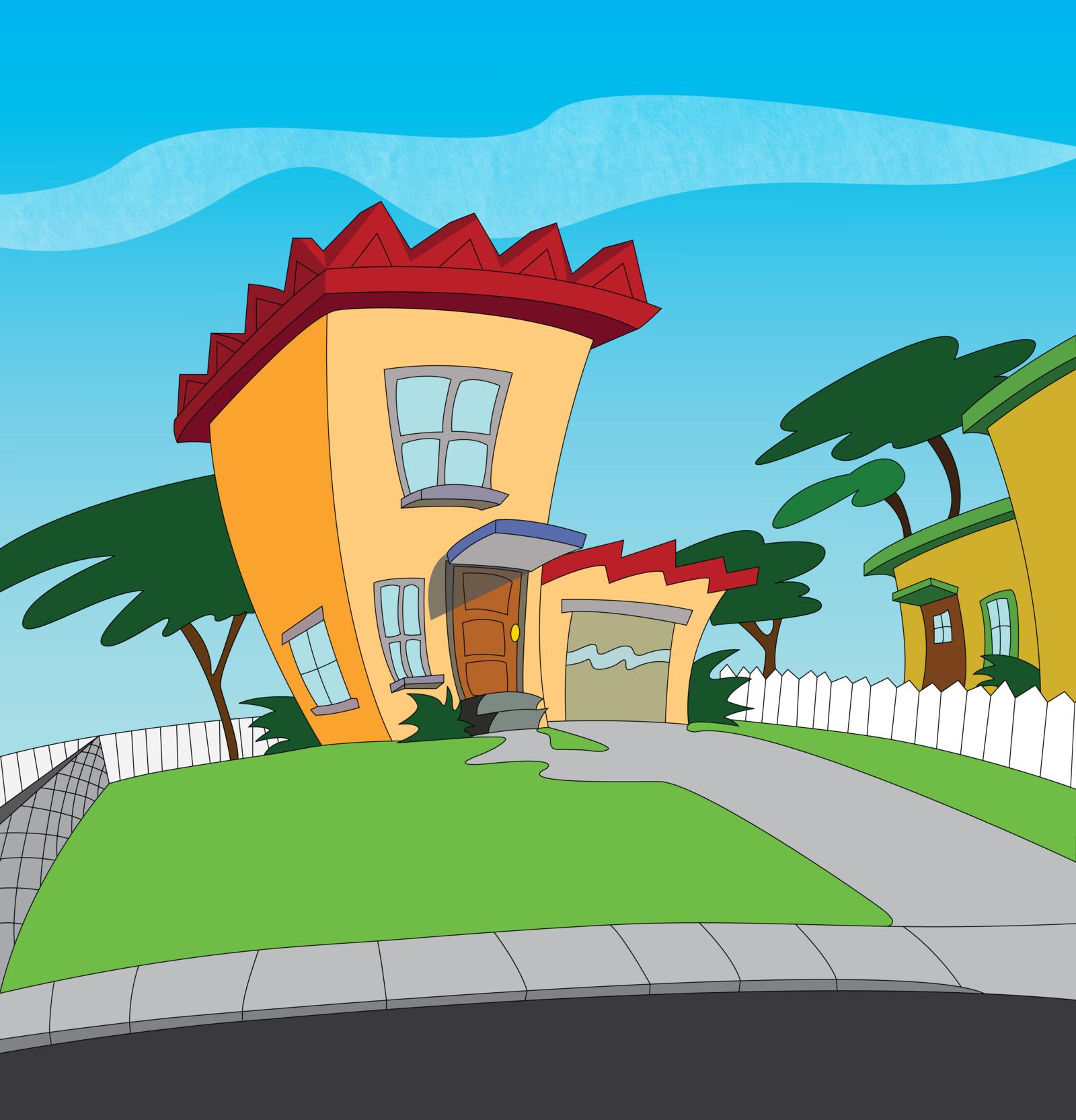 Ranking Las Casas De Los Dibujos Animados Más Famosos Goplaceit