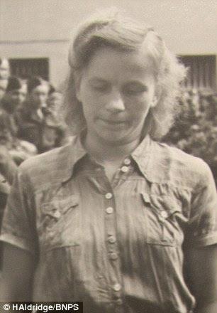 The unidentified prisoner was arrested after the liberation of Burgen-Belsen death camp